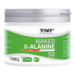 Naked Beta-Alanin Pulver (250g)