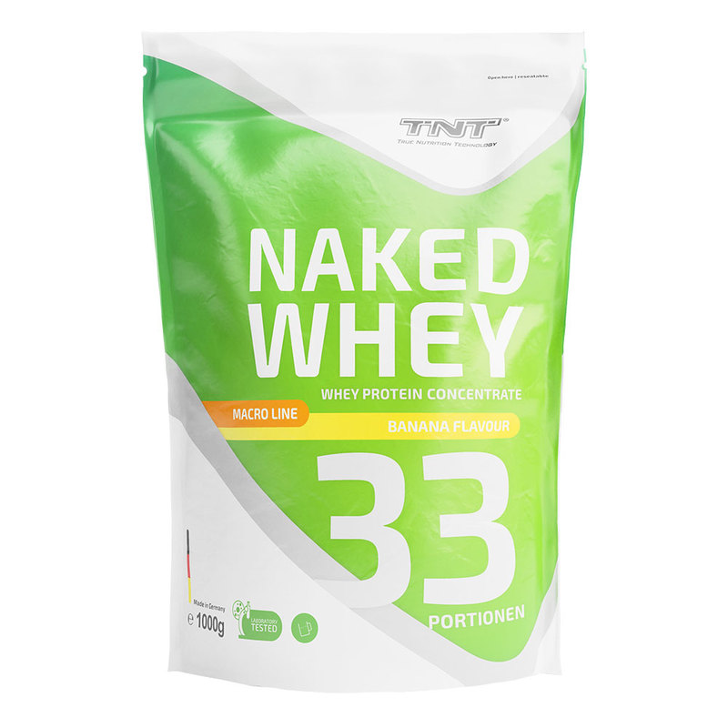 TNT - Naked - Whey - Banane