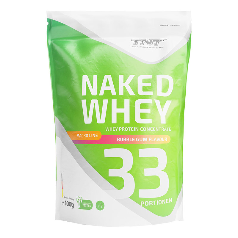 TNT - Naked - Whey - Bubble - Gum