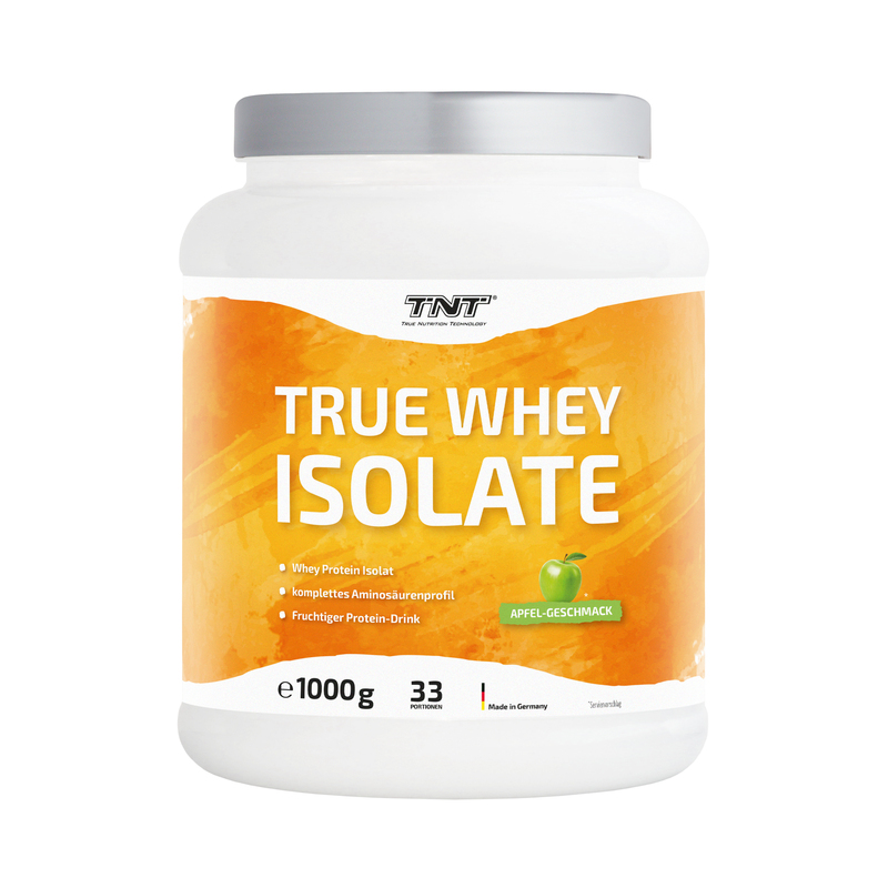 TNT True Whey Isolate Apfel