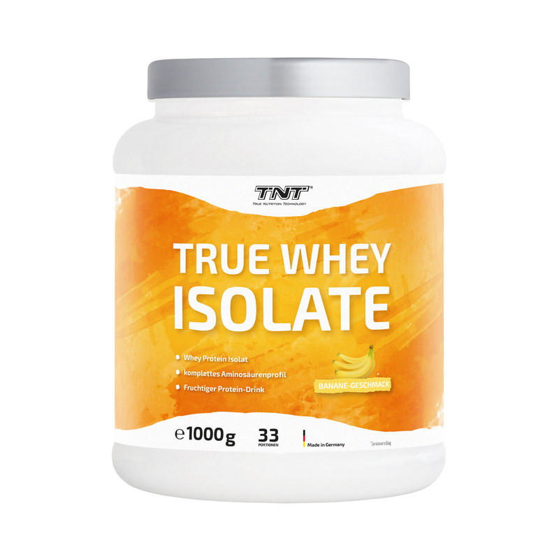 TNT True Whey Isolate Banane