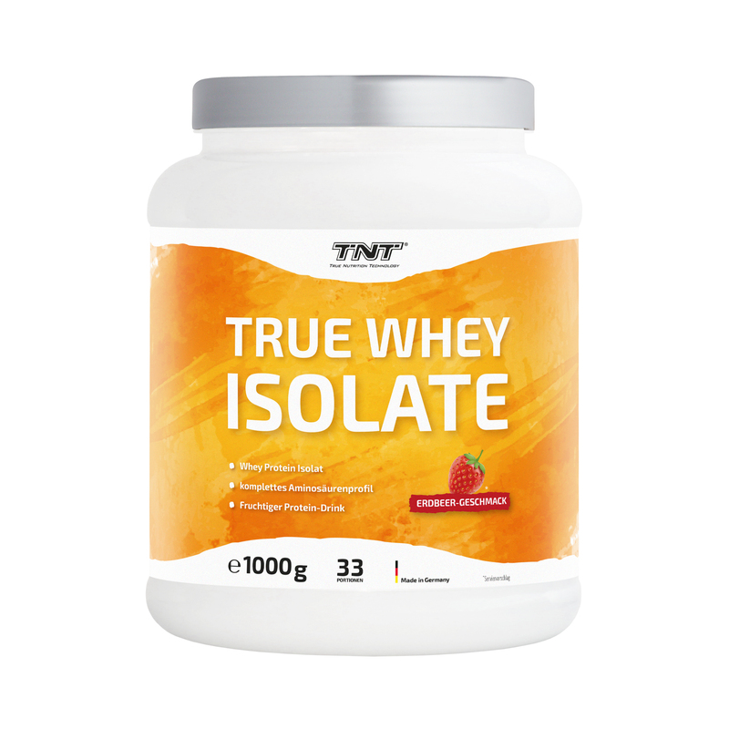 TNT True Whey Isolate Erdbeer